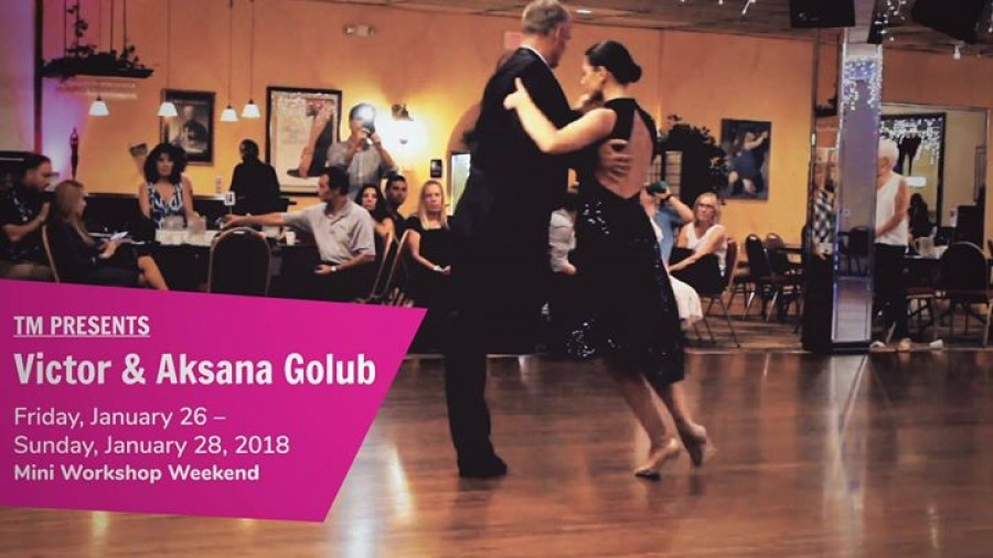 Victor Aksana Golub Winter Tango Holidays in KC