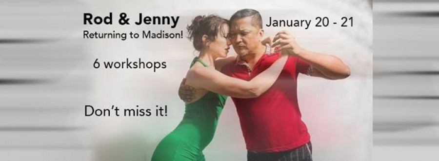 Tango workshops with Rod and Jenny