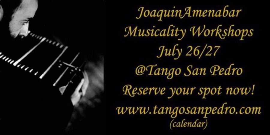 Musicality Workshops with Joaquin Amenabar