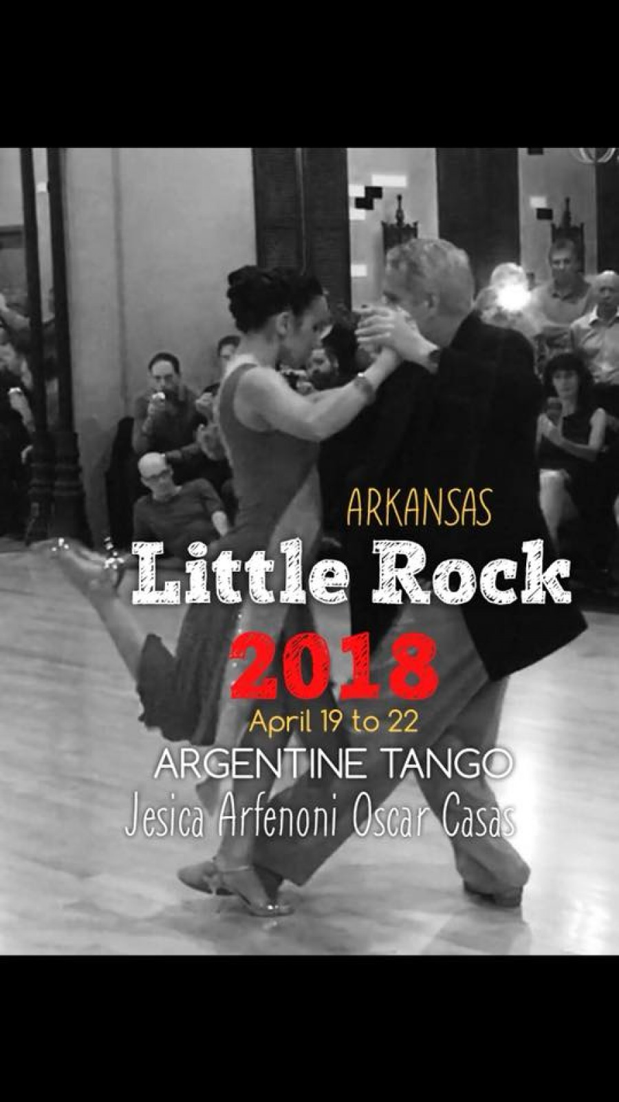 Oscar Casas and Jesica Arfenoni workshop in Little Rock