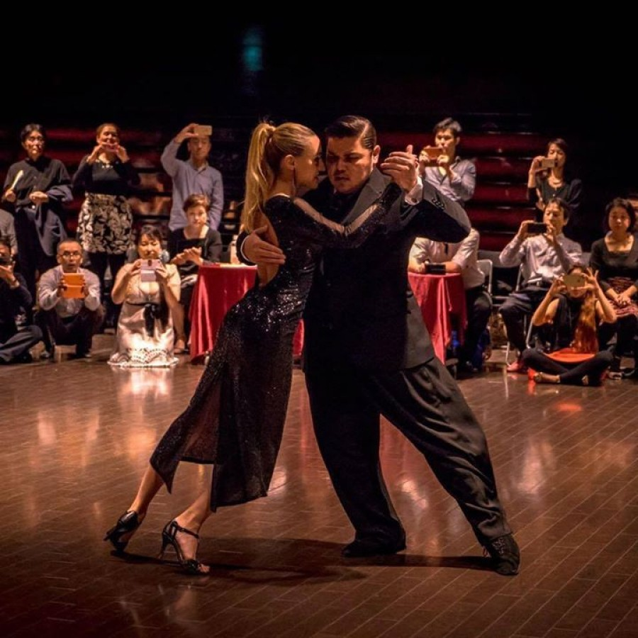 2016 World Tango Champions Cristian Palomo and Melisa Sacchi