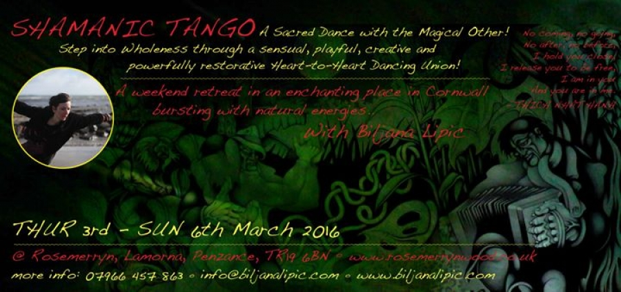 SHAMANIC TANGO WEEKEND RETREAT