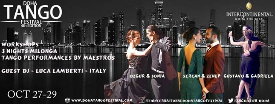 4th International Tango Festival Doha 2016
