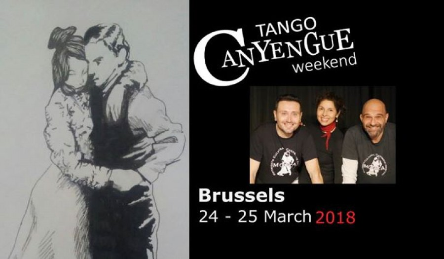 Tango CanYengue weekend in Brussels