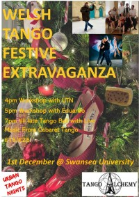 Welsh Tango Festive Extravaganza Workshops and Milonga Ball