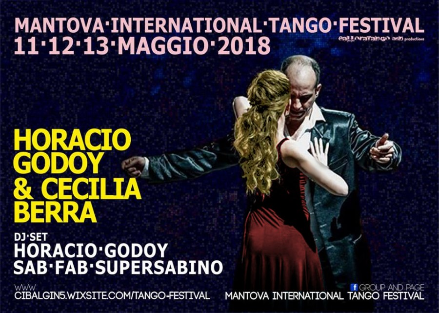Horacio godoy y Cecilia Berra at Mantova International Tango