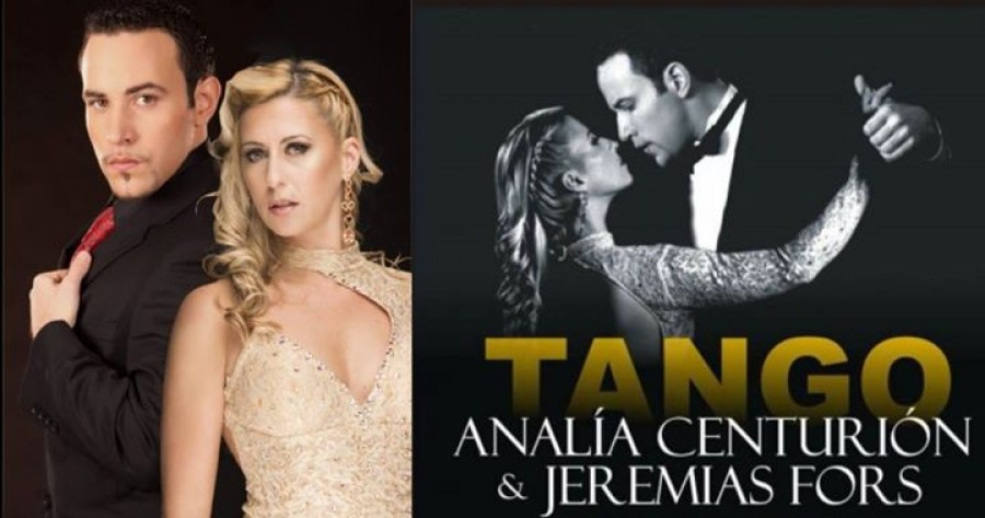 Analia Centurion and Jeremias Fors Tango Workshops