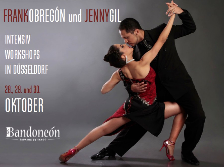 Workshops in Dusseldorf with Frank and jenny