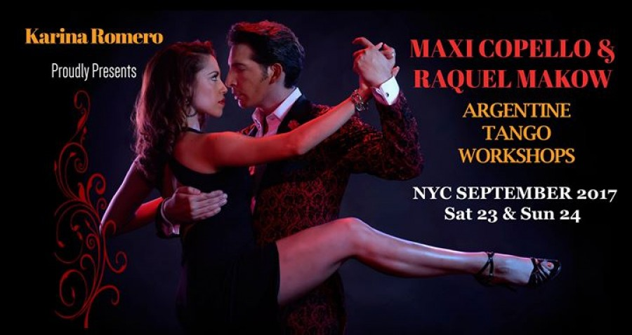 Maxi Copello Raquel Makow Tango Workshops in NYC