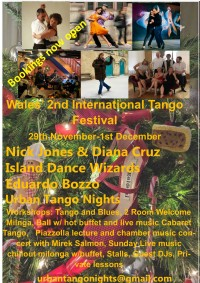 Wales' 2nd International Tango Festival