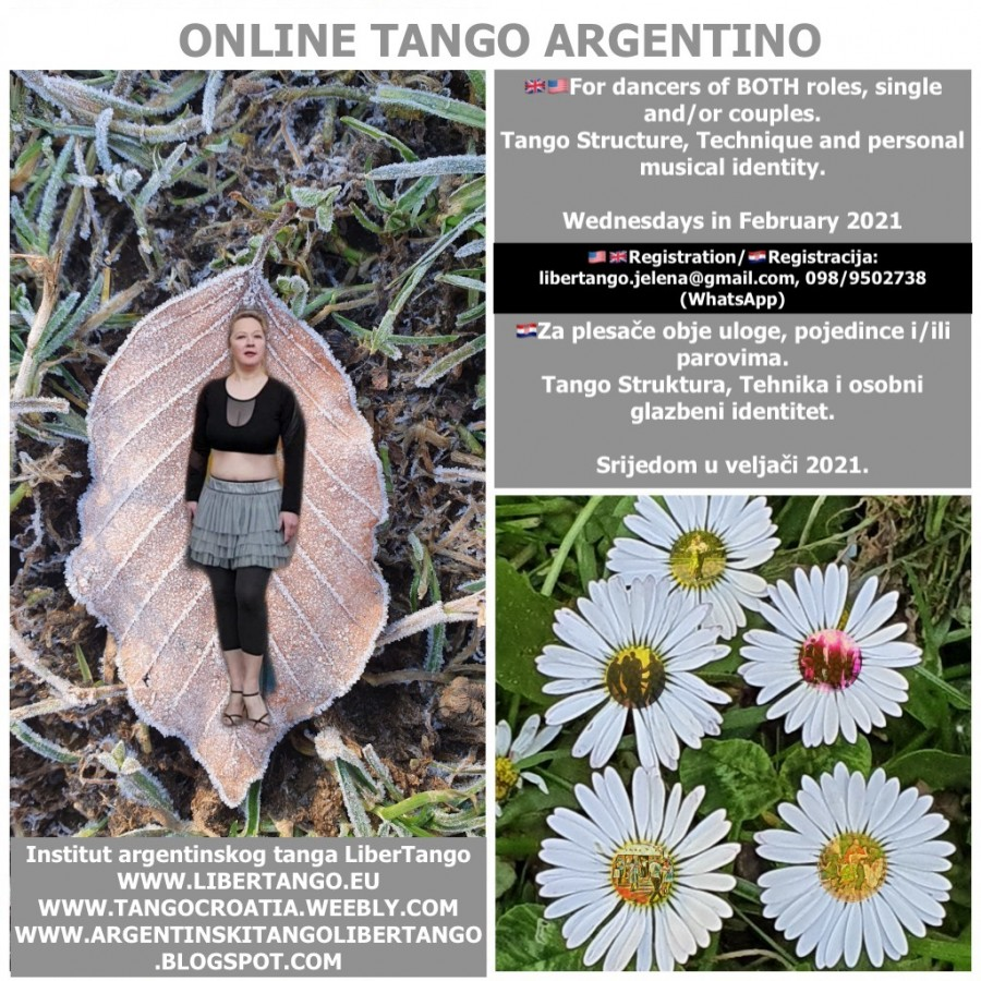 On line Tango Argentino for all roles