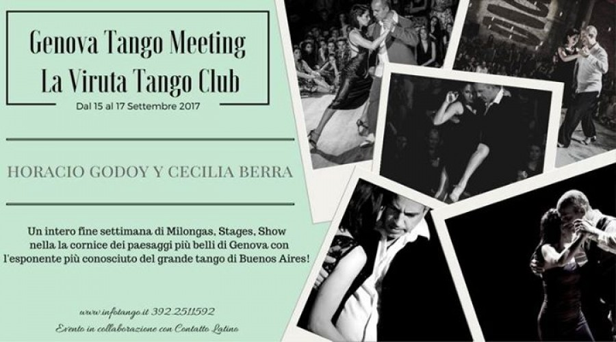 Horacio Godoy y Cecilia Berra Weekend VirutaTangoClub News