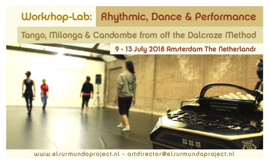 LAB Tango Milonga Candombe from off the Dalcroze Method