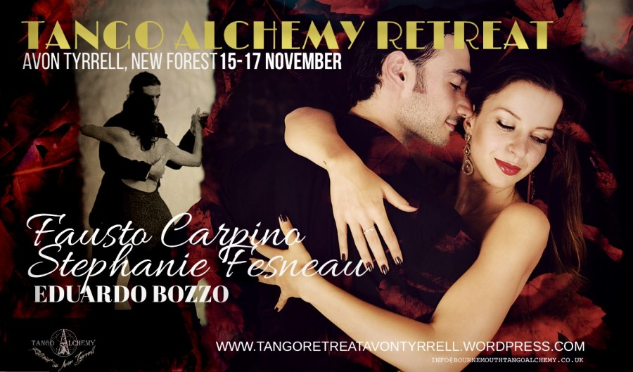 Fausto and Stephanie at  Tango Alchemy Retreat New Forest