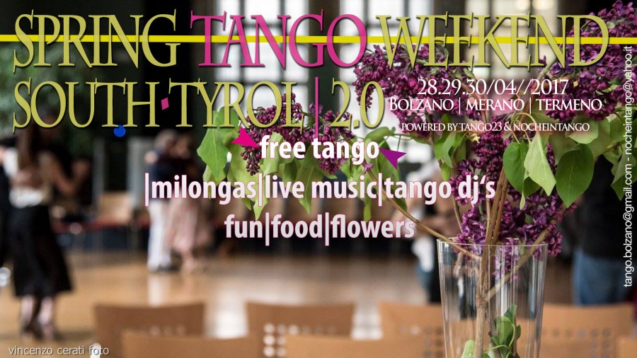 Spring Tango Weekend South Tyrol