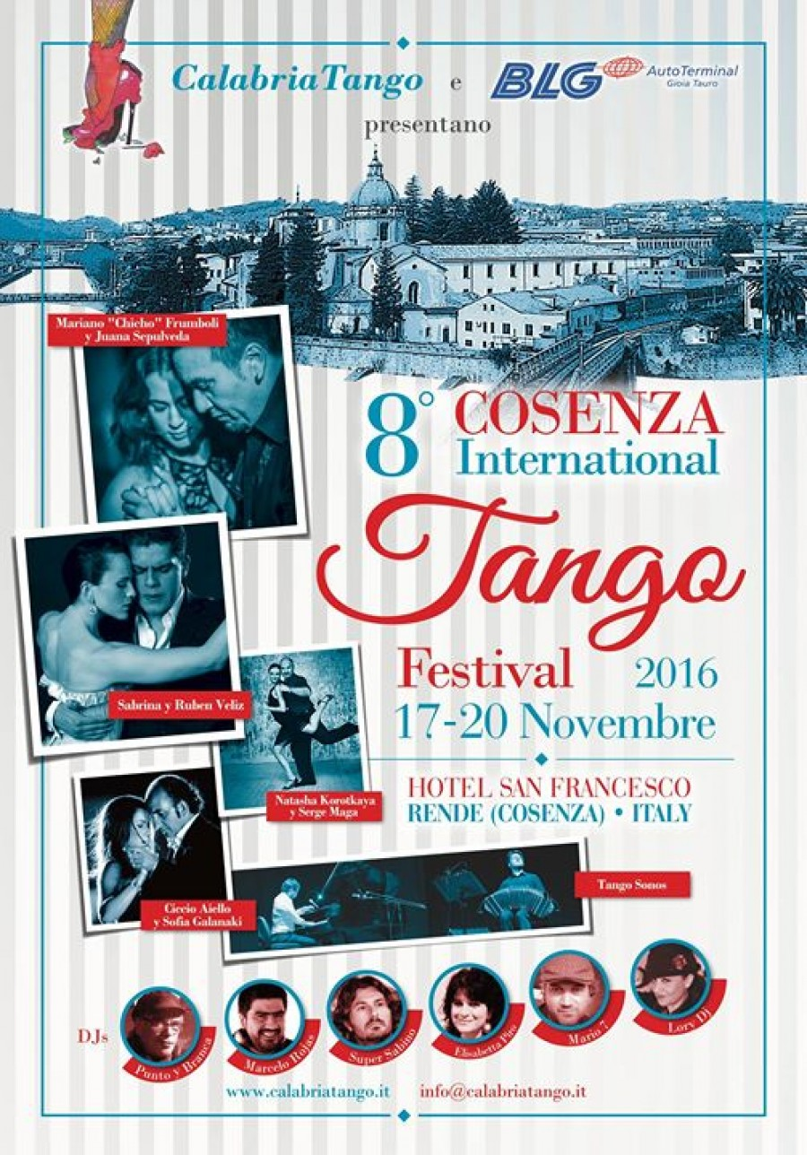 8 Cosenza International Tango Festival