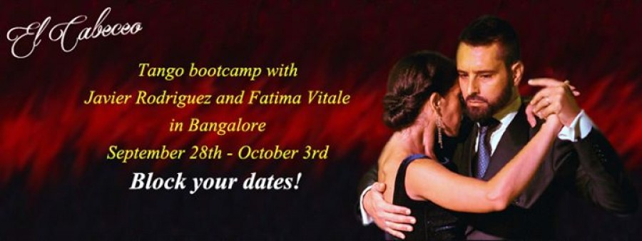 Tango bootcamp with Javier Rodriguez and Fatima Vitale