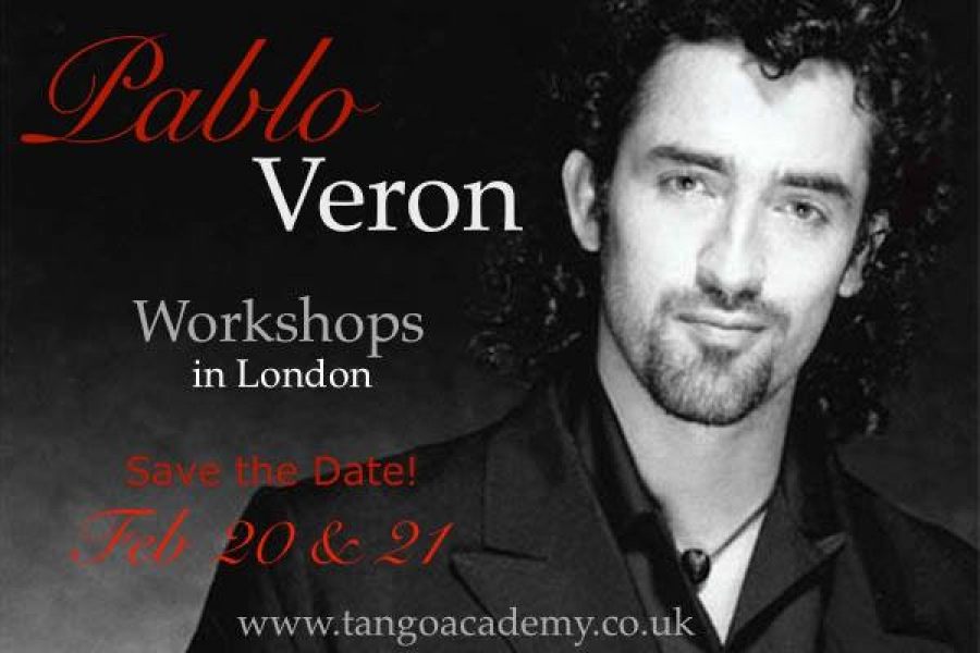 Pablo Veron Workshops in London at LPTA