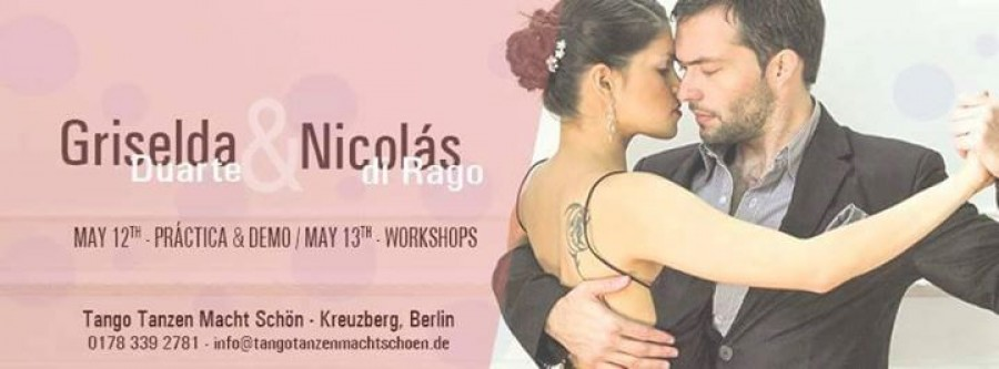 Intensive Tango Milonga weekend Demo Practica Workshops