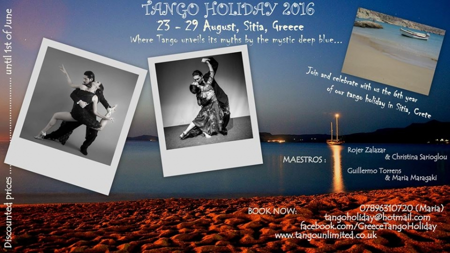 Tango Holiday Greece, Sitia-Crete