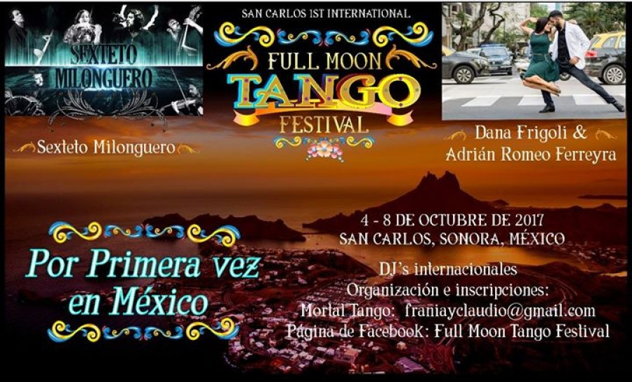 San Carlos International Full Moon Tango Festival