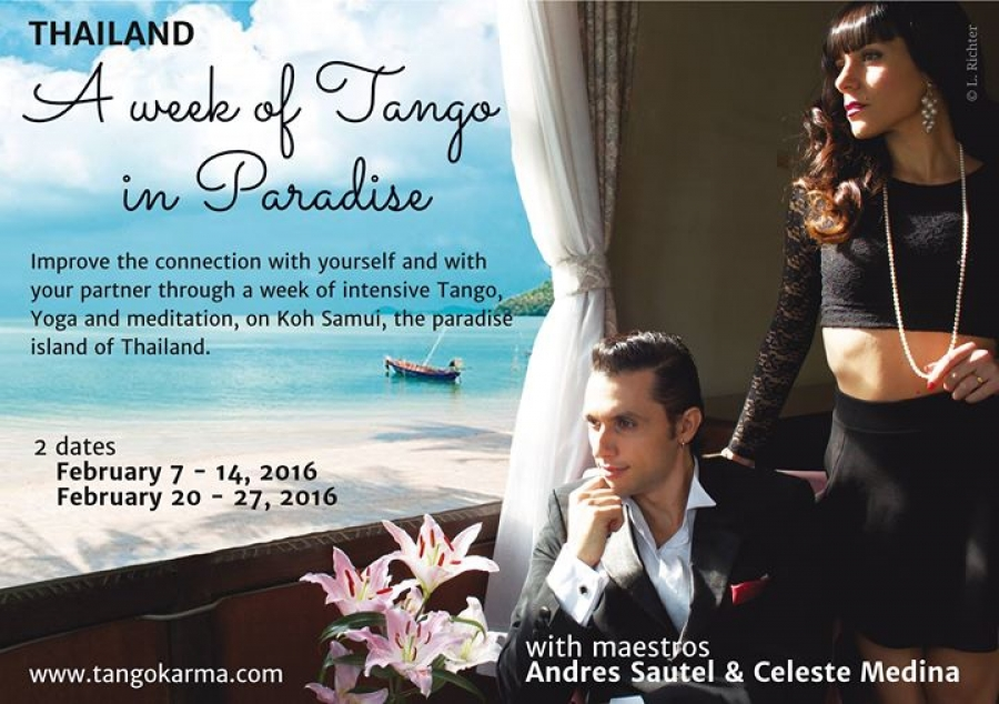 A week of Tango in Paradise - Thailand