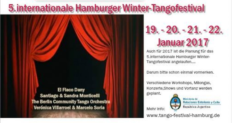 5 Internationale Hamburger Winter TangoFestival