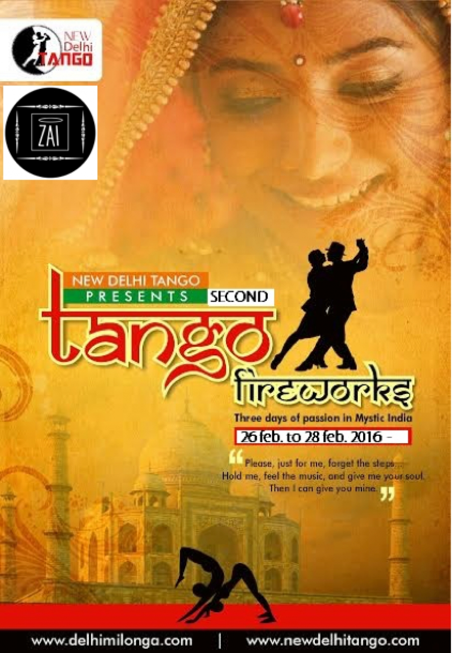 Tango Fireworks- Three days of passion in mystic India.