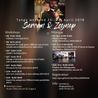 Tango Weekend in PRAGUE with Sercan Yigid and Zeynep Aktar