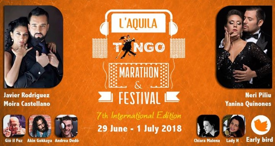 International L Aquila Tango Marathon Festival 2018