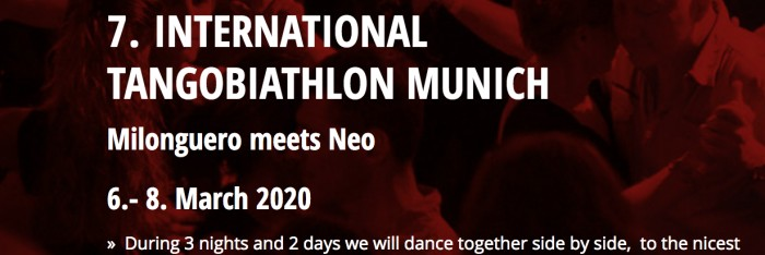 7 th Munich Tangobiathlon 2020