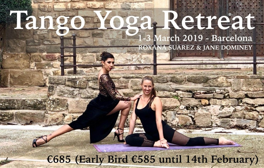 Women's Tango Yoga Retreat Barcelona - Roxana Suarez