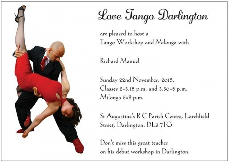 Tango Workshop with Richard Manuel