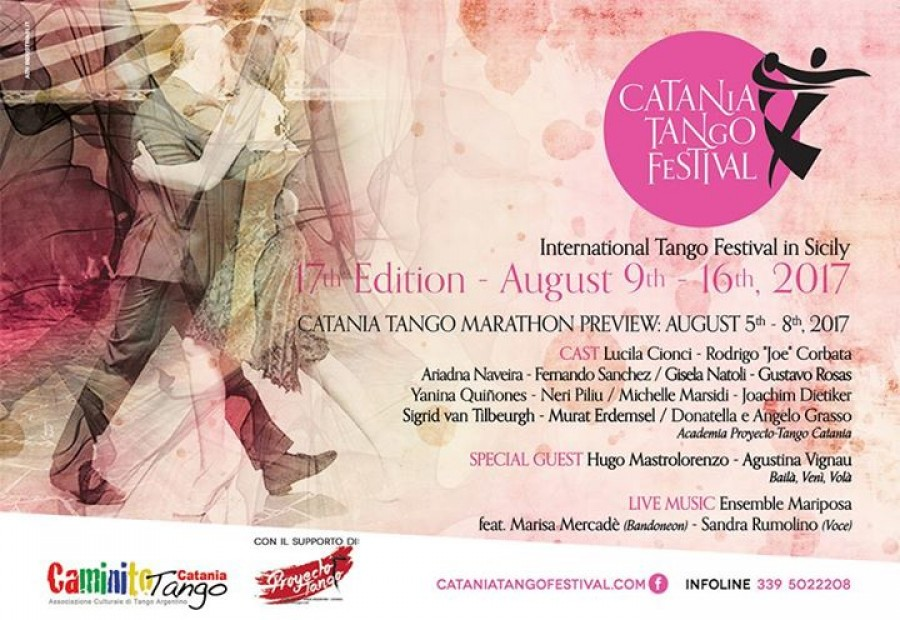 Sicily Catania Tango Festival and Marathon