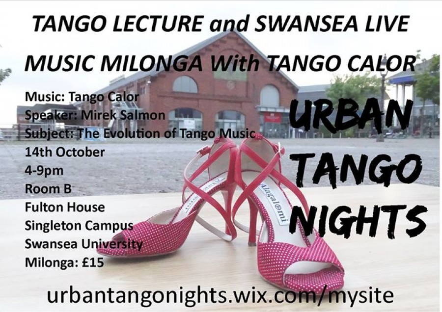 Tango Lecture and Live Music Milonga with Tango Calor