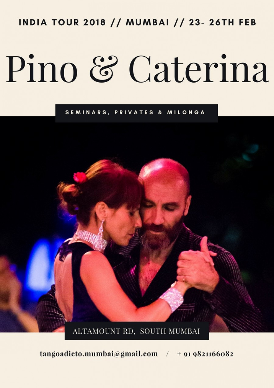 Pino and Caterina India Tour 2018