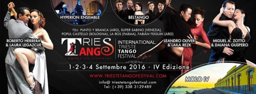 IV International Trieste Tango Festival