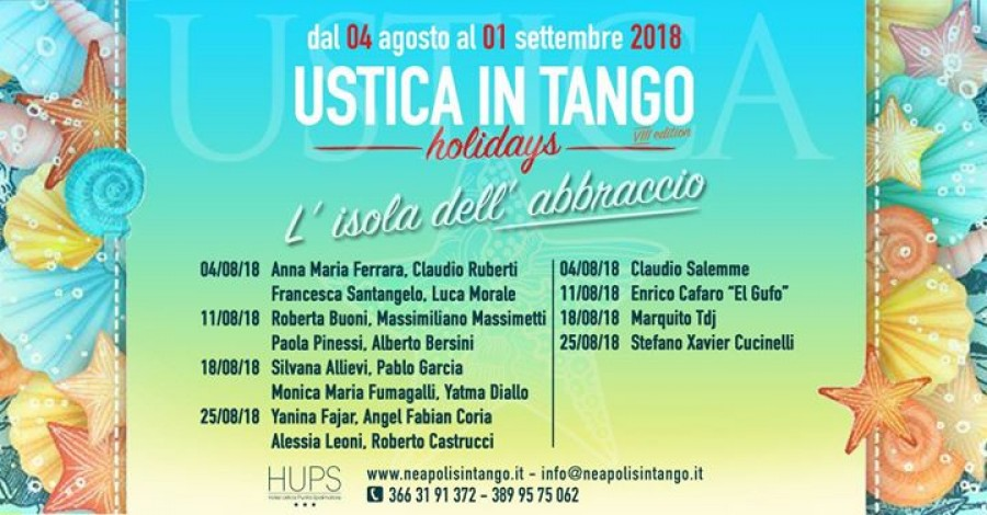 Ustica in Tango Holidays VIII