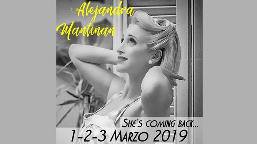 Alejandra is coming