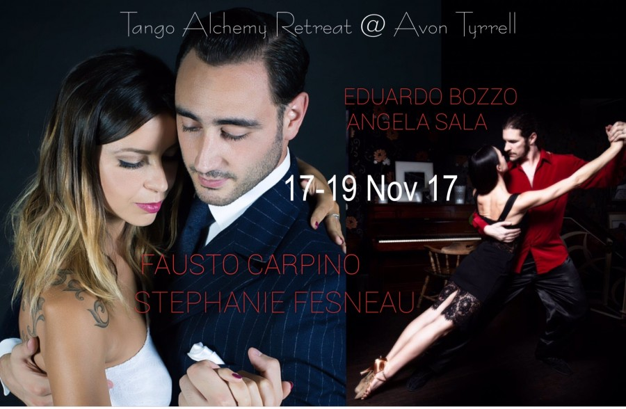 Fausto Carpino Stephanie Fesneau at Tango Alchemy Retreat