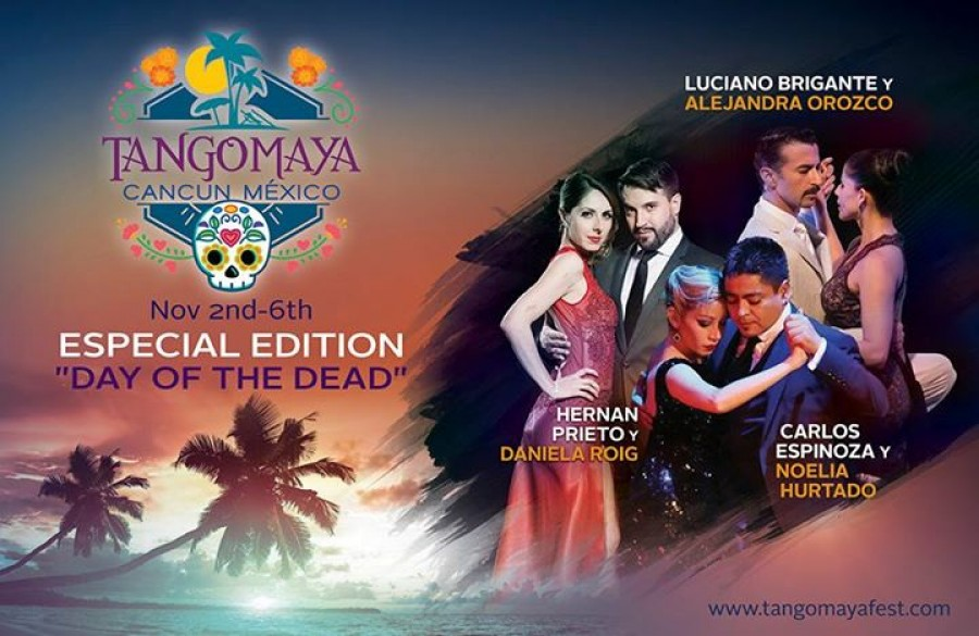 Tango Maya Fest in Cancun Mexico