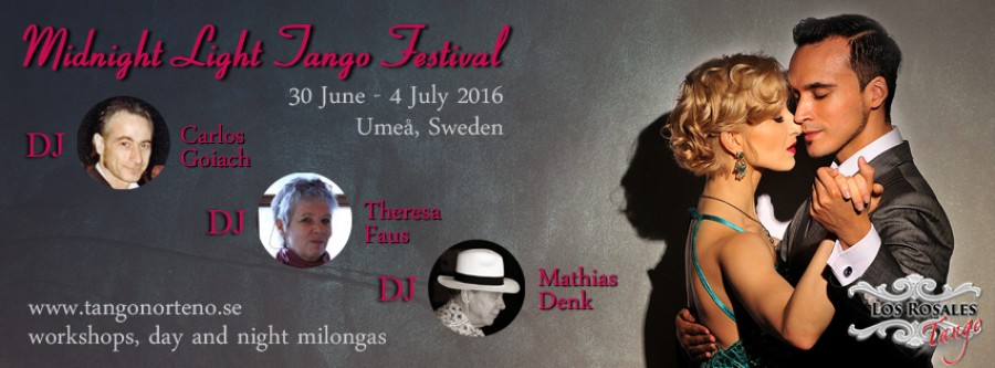 Midnight Light Tango Festival 2016, Umea, Sweden