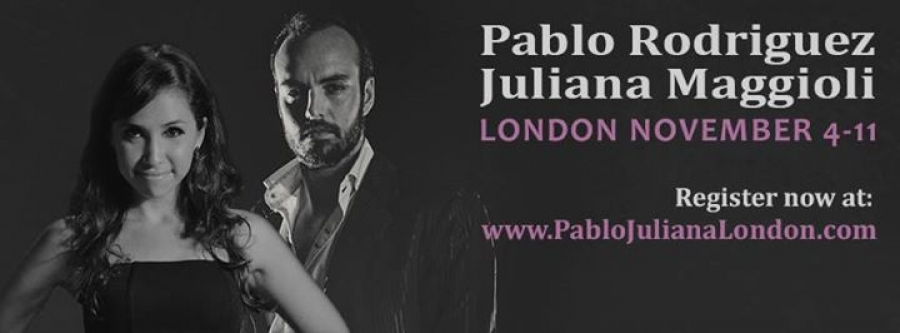 Pablo Rodriguez Juliana Maggioli in London
