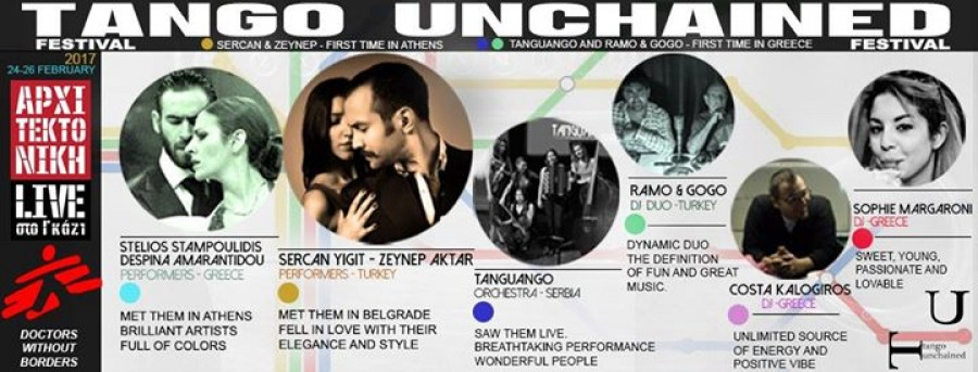 1st Tango Unchained international festival