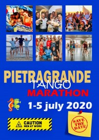 PIETRAGRANDE TANGO MARATHON 1 to 5 July 2020 - ITALY summer