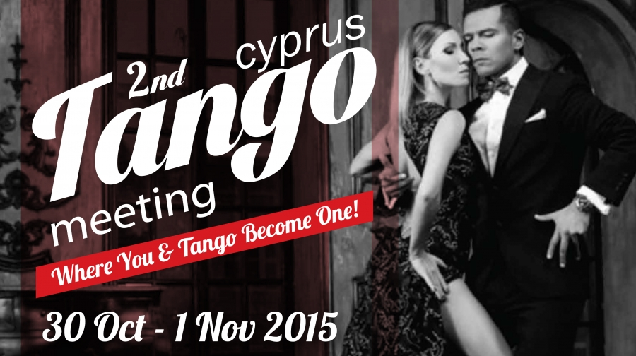 2nd Cyprus Tango Meeting with Sebastian Arce & Mariana Montes !!!