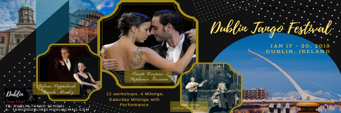 Dublin Tango Festival with Fausto Carpino and Steph Fesneau