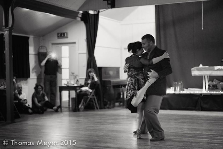 Tango weekend with Damian Thompson and Vanessa Leamy Corsini