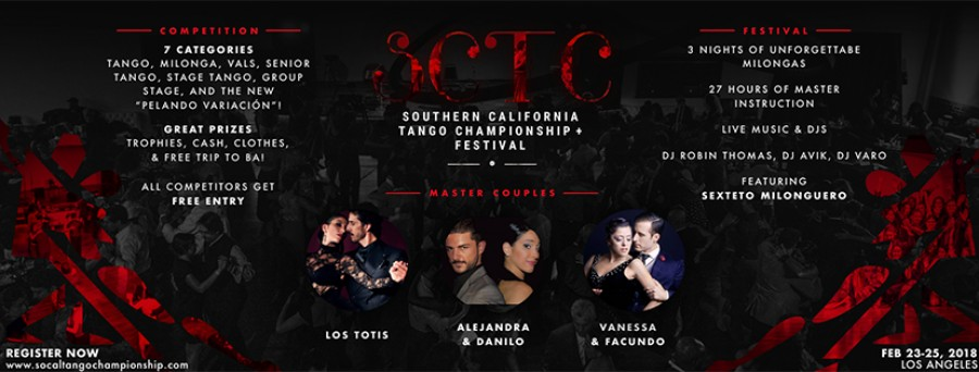 Southern California Tango Championship and Festival 2018