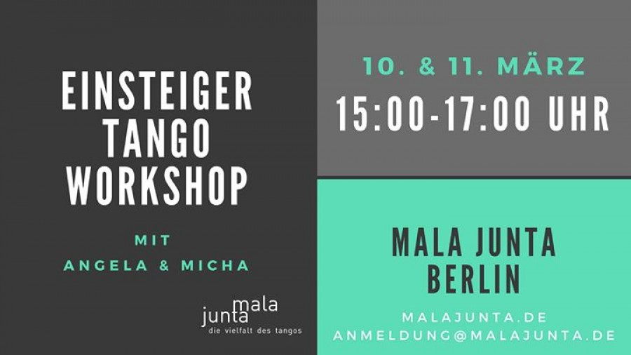 Einsteiger Tango Workshop
